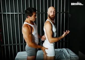video Axel Kane, Dustin Steele – Cellmates (Bareback)