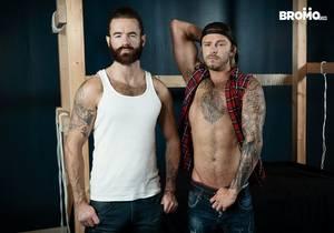 video Blake Ryder, Brendan Patrick – Tied and Teased (Bareback)