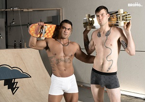 video Buck Richards, Draven Navarro – Lords of Raw-Dogs Part #1 (Bareback)