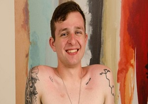 video Dixon's back – And taking an 8-inch dildo on the massage table!