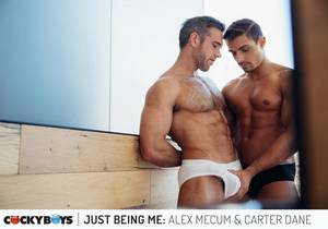 video Just Being Me : Alex Mecum & Carter Dane (Bareback)