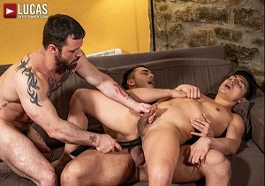 video Sergeant Miles And Brock Magnus Spit-Roast Ken Summers