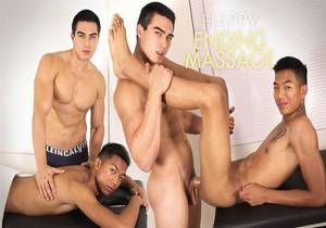 video Sexy Rich Gaysians – Happy Ending Massage – Axel Kane & Alec Cruz