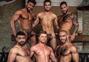 video Rico Marlon's Raw Uncut Orgy (Bareback)