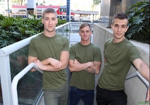 video Ryan Jordan, Donte Thick & Blaine Jameson (Bareback)