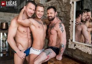 video Sergeant Miles And Tomas Brand Share Yuri Orlov's Boy Hole (Bareback)