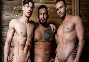 video Viktor Rom Drills Jackson Radiz And Ruslan Angelo (Bareback)