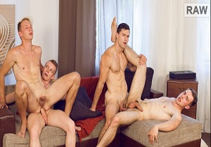 Video Wank Party #98 Part 2 – Kristof Trnka, Petr Ujen, Petr Jarena & Tomas Salek