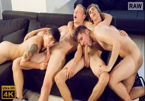 video Wank Party #99, Part 1 RAW – Igor Zobor, Martin Pesek, Tomas Berger, Vadim Covrescu (Bareback)