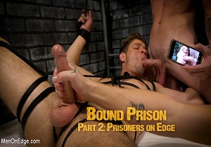 video BOUND PRISON Part 2: Officer DelRay has his Prisoners on Edge