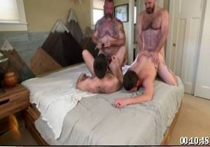 video RealMenFullBush Sexgroup Part 2