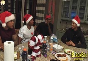 video Apollo, Bandit, Dominic & Isaiah – A BBA Christmas Reunion (Bareback)