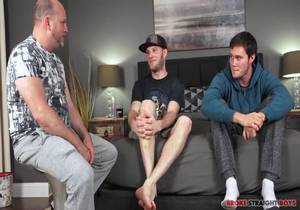 Behind the Scenes Chatting with Straight Boys Benjamin and Damien