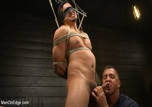 video But Your Dick Says Yes : Tony Prower Edged In Full Suspension