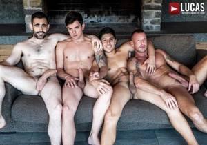 video Daddies And Bros Raw – Dakota Payne, Ken Summers, Logan Rogue & Max Arion (Bareback)