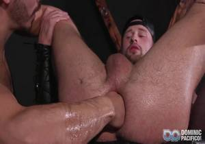 Dominic Pacifico, Drew Dixon, Cazden Hunter – Black Box Orgy – Bareback
