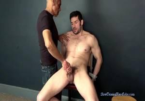 video Greg's Post Orgasm Milking
