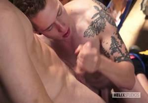 Helix – Stockroom Sex – Lukas Grande & Justin Owen