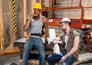 video Kurtis Wolfe & Trent King – Raw Construction (Bareback)