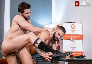 video Gentlemen 25 – Edjis The Boss – Ben Batemen Fucks Edji Da Silva Up The Ass