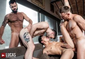 video LE – Max, Andrey, Victor, Ken – Raw Bros Foursome