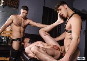 video Step Daddys Basement, Part 3 – Jack Hunter, Paul Canon & Tristan Jaxx