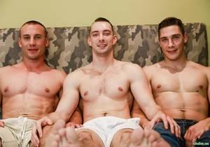 video Marc Montana, Spencer Laval & Johnny B (Bareback)
