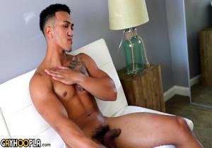 New Model Adonis Fisher Jerks Off