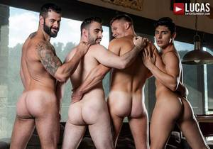 video Raw Bros Foursome – Andrey Vic, Ken Summers, Max Arion & Victor DAngelo (Bareback)