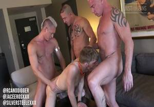 video Ryan Carter & Digger, SIlver Steele, Jace Eros (Bareback)