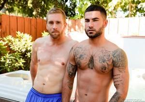 video Scott Riley, Vadim Black – Hot Tub Hookup