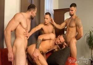 video Wank Party #105, Part 2 RAW – Hugo Antonin, Leo Lombar, Pavel Sora, Roman Baren (Bareback)