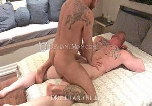 video Drilled And Filled – Eisen Loch, Nigel March (Bareback)
