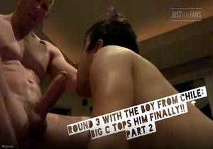 video Round 3 With The Boy From Chile – Big C Tops Him Finally Part 2