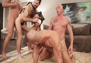 video LA orgy – Jack Mackenroth, Teddy Bear, Silver Steele, Archer Croft, Ryan Carter, Digger