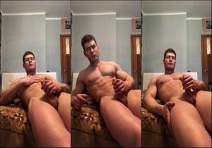 video Hot Russian Bodybuilder Ilya – Jerking and asshole tease