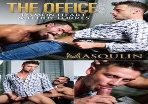 The Office, Part 1 – Teddy Torres fucks Damon Heart bareback