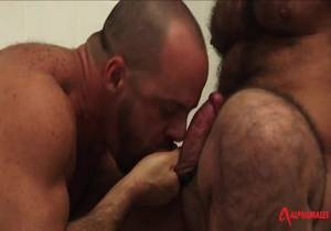 AlphaMales – Butch Hairy Ballbusters – Butch Grand And Carlo Cox