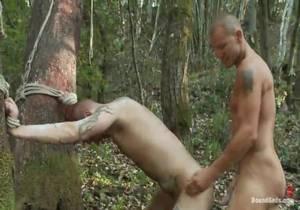 BoundGods – Adam Port & Brenn Wyson – Creepy Janitor gets some R&R at Naughty Pines 13125