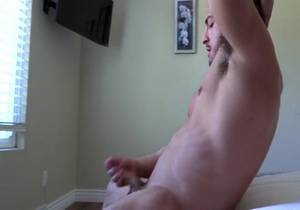 GayHoopla – Thick Muscle Jock George Gomez Strokes His Cock
