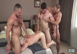 Hairy Tales Part 3 – Colton Grey, Derek Bolt, Dirk Caber & Marc Giacomo