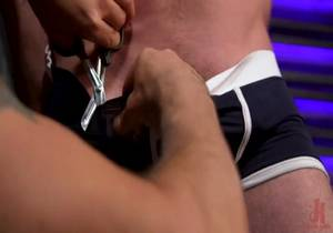 MenOnEdge – Newcomer Straight Stud Sean Holmes Submits to Dominic Pacifico