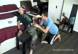 Military Classified – Gunner 6 Anal Restrained