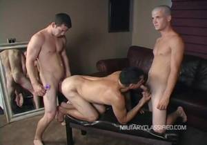 MilitaryClassified – Sonny & Rock anal 2man
