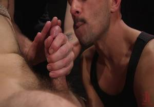 MenonEdge – William Crown Gets His Big Hard Dick Choked And Edged