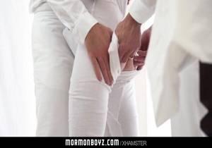 Mormonboyz- Submissive Boy Fucks Two Older Men Gay Porn 93