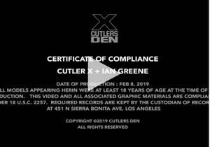 Cutler X & Ian Greene