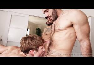 Francisco Sants & Adam Sahar double fuck Drew Dixon raw