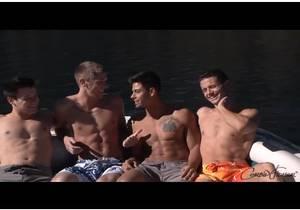 Tahoe Fuck Fest – Quinn, Kellan, Marc and Trenton