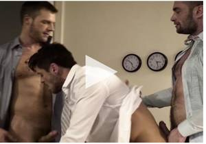 Stas Landon & Jack Andy Double Penetrate Brian Bonds After Hours